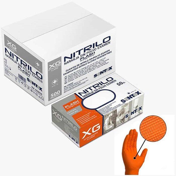 guante-nitrilo-sin-polvo-naranja-gd-26